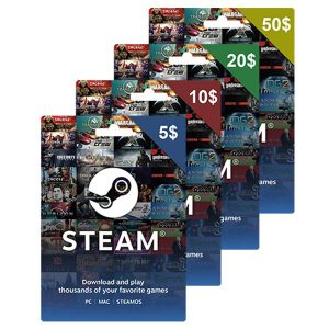 Steam Game Card $10 (Email Delivery)