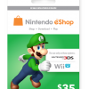 Nintendo E-Shop $35 Card (Email Delivery)